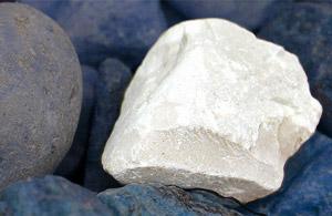 white stone picture